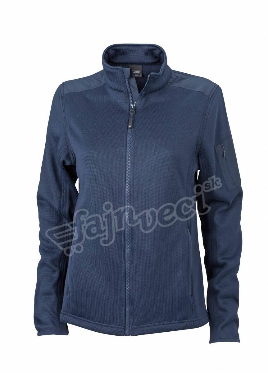 jn590-ladies-knitted-fleece-jacket