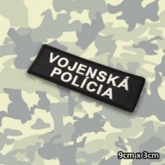 VOJENSKÁ POLÍCIA náš. 9x3cm