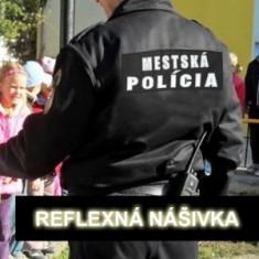 Nášivka reflexná MP-chrbát