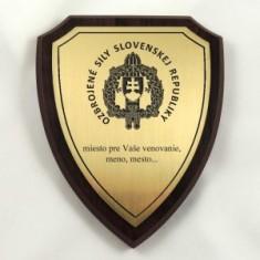 Plaketa štít stredný OSSR 2