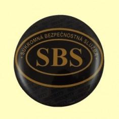 SBS logo živ.nálepka