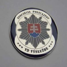 Odznak kovový APVV 3D