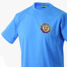 Tričko s vyšitým logom SR HaZZ
