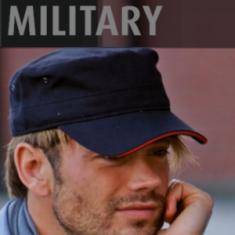Military čiapka sendvičová