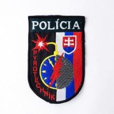 Nášivka Polícia Pyrotechnik