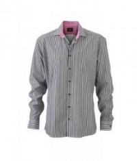 Pánska pásiková košeľa