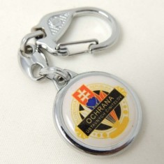 Kľúčenka 3D Ø3cm OUČ