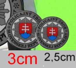 Nálepka Ø3cm ŽIV