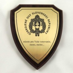 Plaketa štít malý OSSR 2