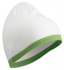 Zimná čiapka s kontrastým pásom