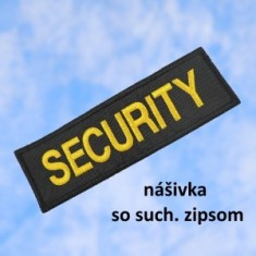 SECURITY SZIP 12x4cm