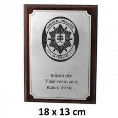 APVV plaketa 18x13cm
