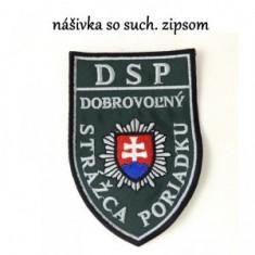 Nášivka SZIP DSP-tm. zelená