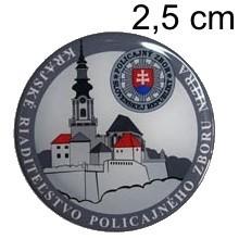 Nálepka živicová ∅ 2,5cm