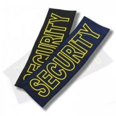 SECURITY nášivka - veľká