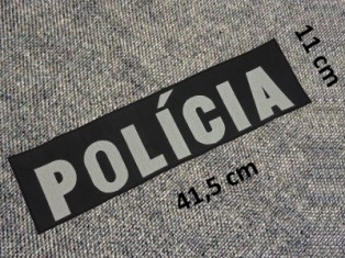 Vyšív. nápis POLÍCA