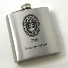 Náprsná fľaška 6 Oz, Silver