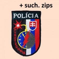 Nášivka PZ Pyrotechnik SZIP