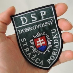 Nášivka DSP - tmavá zelená