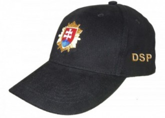Šiltovka DSP - PZ čierna