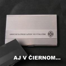 Vizitkár lesklý gravír APVV