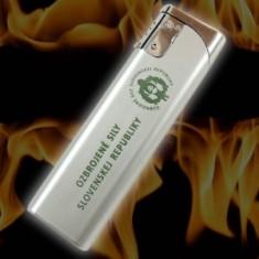 Zapaľovač strieborný OSSR