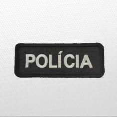 POLÍCIA 8x3cm