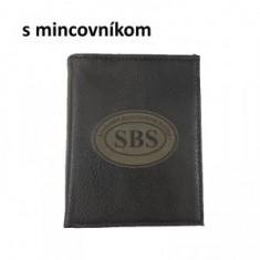 Peňaženka mince gravír SBS