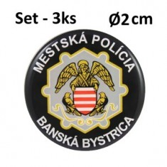 SET 3ks MP BB Ø2cm ŽIV nál.