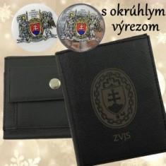 ZVJS Peňaženka A vyrez,mince