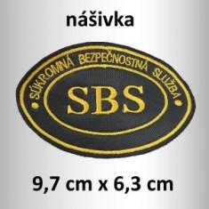 SBS oficiálne logo nášivka