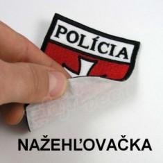 POLÍCIA nažehľovačka