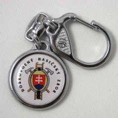 Kľúčenka 3D Ø3cm DHZ