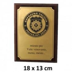 DPN plaketa 18x13cm