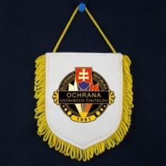 Vlajka malá OUC -potlač