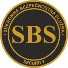SBS logo okrúhle nášivka