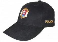 Šiltovka PZ - čierna