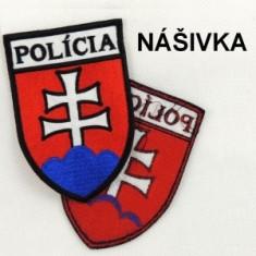 Vyšívaný znak POLÍCIA-náš.