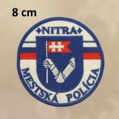 Nášivka MP NR 8cm