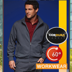 Workwear Sweat Jacket