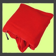Fleece Blanket in Cushion