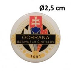 Nálepka OUC Ø2,5cm ŽIV