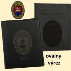 ZVJS peňaženka B, ovál.výrez