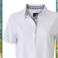 Ladies' Plain Polo Check