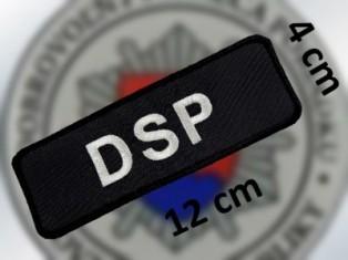 DSP - rozmer hodnosti 12x4cm