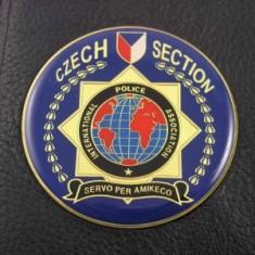 Odznak kovový SCR