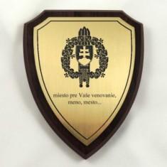 Plaketa štít stredný OSSR 1
