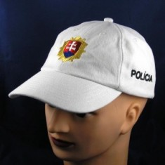 Šiltovka PZ - biela
