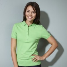 Ladies' Elastic Polo Piqué