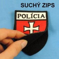 Nášivka POLÍCIA so such.zips